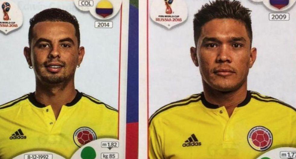 Selección de Colombia: los cinco jugadores que estuvieron en el álbum, pero no irán a Rusia 2018. (Fotos: Fútbolred)