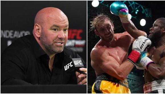 """Dana White crítica a Mayweather: """"Eso no fue boxeo, es como si Kim Kardashian quisiera pelear contra Amanda Nunes"""". (UFC/Agencias)"""