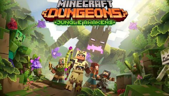 Minecraft Dungeons ya tiene fecha de lanzamiento para la siguiente expansión. (Foto: Mojang)