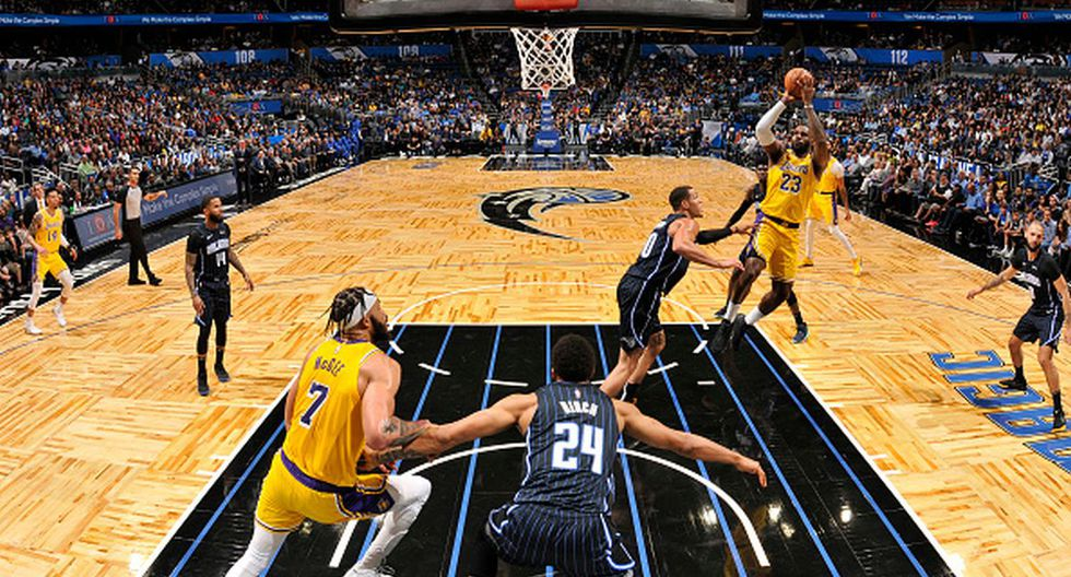 Los Angeles Lakers suman 22 victorias en la temporada regular de la NBA 2019-20. (Getty Images)