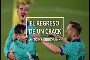 Antoine Griezmann encuentra su lugar en Barcelona