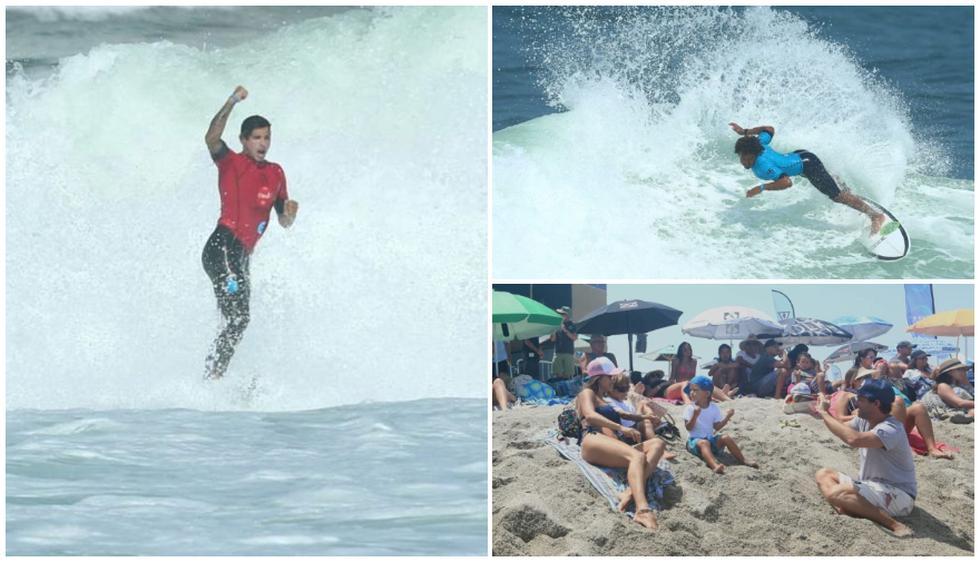 Culminó el Claro Open Pro Copa Tubos QS 3000 en playa Señoritas, Punta Hermosa. (Alessandro Ccurrarino)