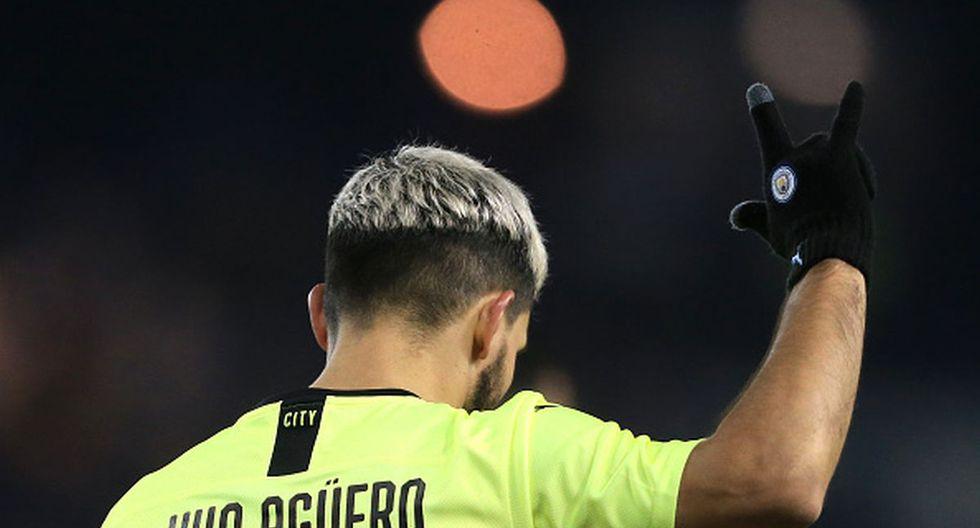 Sergio Agüero llegó al Manchester City en el 2011. (Getty Images)