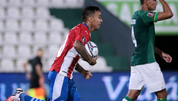 Paraguay vs Bolivia en Asunción por Eliminatorias Qatar 2022. (Foto: Albirroja)