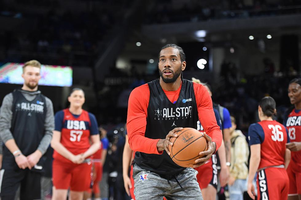 Kawhi Leonard será parte del Team Lebron. (Foto: Getty Images)