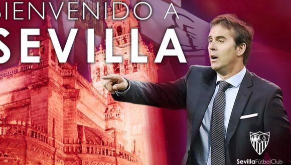 Lopetegui duró tres meses como entrenador del Real Madrid. (Sevilla)