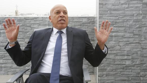Roberto Mosquera optó por no responder a lo dicho por Ángel Comizzo. (Foto: GEC)