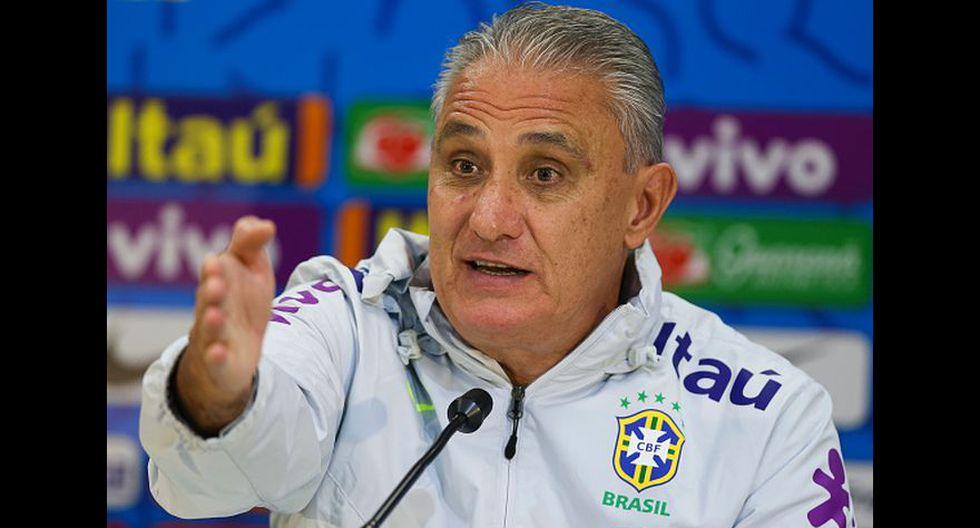 7. Tite (58 años), entrenador de Brasil.(Foto: Getty Images)