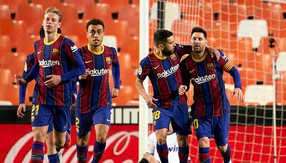 Lionel Messi lleva 28 goles en la presente temporada de LaLiga. (Getty)