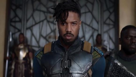 Michael B. Jordan como Erik Killmonger en Black Panther (Foto: Marvel)