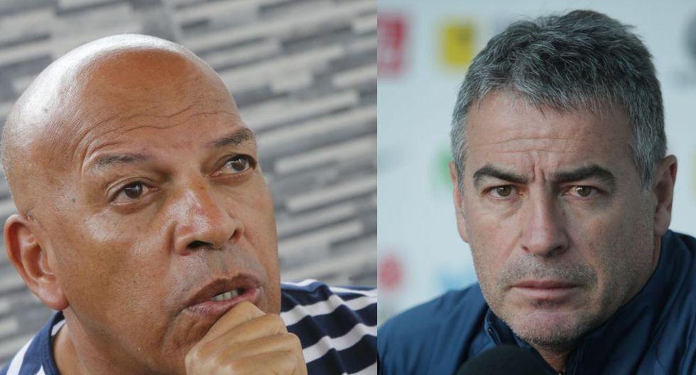 Roberto Mosquera y Pablo Bengoechea se enfrentarán en el Binacional vs. Alianza Lima, considerado un duelo clave. (Foto: GEC)