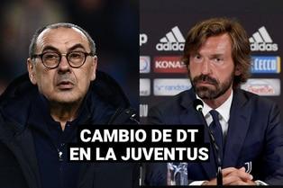 ¡Oficial! Andrea Pirlo es el reemplazo de Maurizio Sarri en la Juventus