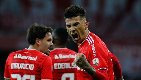 Inter de Porto Alegre sumó su primera victoria en la Copa Libertadores 2021. (Foto: Conmebol)