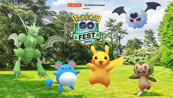 Pokémon GO Fest 2021 anuncia los primeros detalles de realización. (Foto: Niantic)