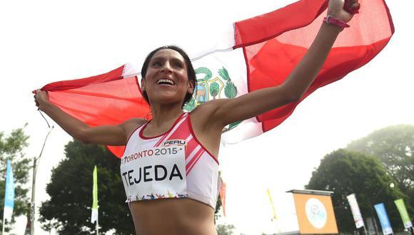 Gladys Tejeda llegó a Tokio en busca de una medalla en los Juegos Olímpicos. (Foto: Twitter)