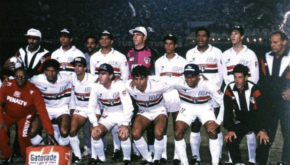 Antonio Carlos formó parte del histórico equipo de Sao Paulo que conquistó la Copa Libertadores 1992. (Foto: Conmebol)