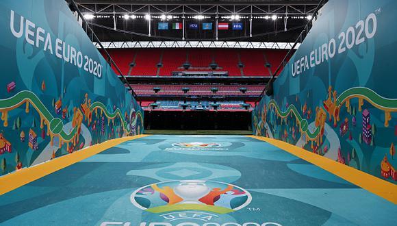 Los octavos de final de la Eurocopa empiezan este sábado 26 de junio con Gales vs. Dinamarca. (Getty)