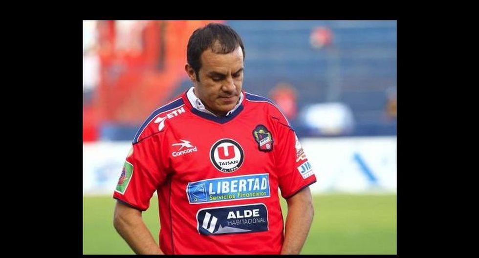 Cuauhtémoc Blanco en Irapuato. La leyenda mexicana confundió al club con… ¡Veracruz!