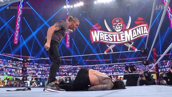 Edge retó a Roman Reigns a una lucha en Wrestlemania 37. (Foto: WWE)