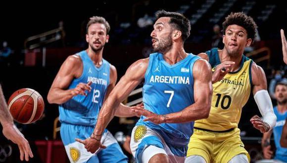 Argentina cayó ante Australia en los cuartos de final de baloncesto por los Juegos de Tokio 2020. (Foto: Getty)