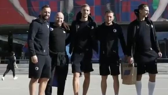 Slavia Praga va por un milagro frente al Barcelona. (Video: Diario Sport)