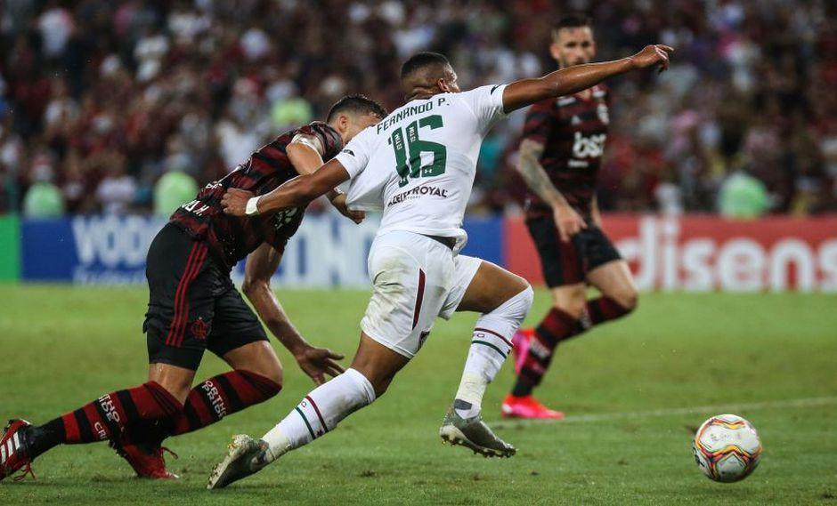 Fernando Pacheco le cambió la cara a Fluminense tras su ingreso en clásico ante Flamengo. (Foto: Fluminense)