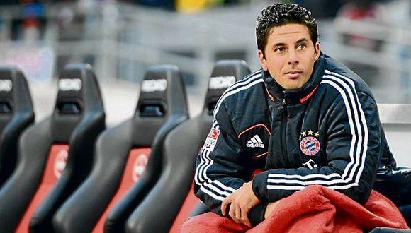 Claudio Pizarro ganó 17 títulos con el Bayern Munich. (Foto: Agencias)