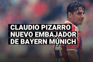 Bayern Múnich fichó a Claudio Pizarro para que se convierta en su nuevo embajador