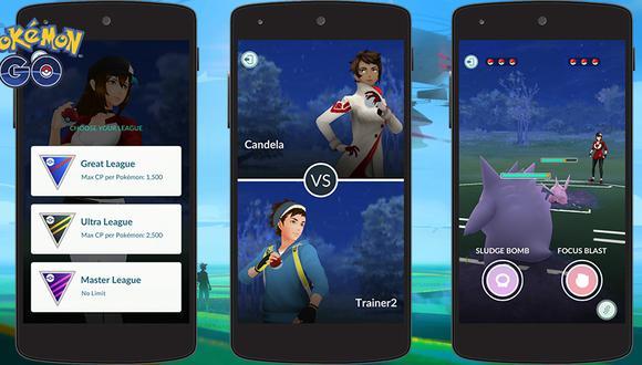 Pokémon GO tendría una nueva actualización que traería las Batallas Pokémon entre usuarios (Foto: Niantic)