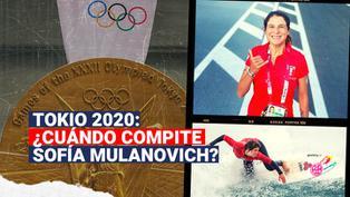 Tokio 2020: ¿Cuándo competirá Sofía Mulanovich en los Juegos Olímpicos?