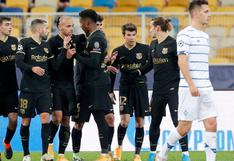 Barcelona vs Dinamo de Kiev: resultado, resumen, mejores jugadas por Champions League 2020