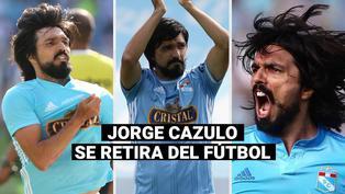Jorge Cazulo se retira del fútbol profesional vistiendo la camiseta de Sporting Cristal