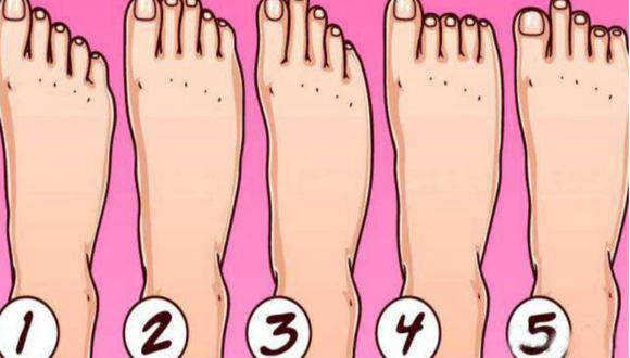 Mira el test viral y dinos de qué forma son los dedos de tu pie para conocer ciertos rasgos de tu personalidad. (Difusión)