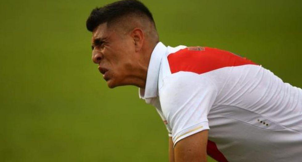 Paolo Hurtado se lesionó en el tiempo de descuento del amistoso ante Colombia. (GEC)