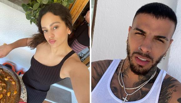 Rosalía publicó su primera foto junto a Rauw Alejandro, con quien ha sido vinculada en los últimos meses. (Foto: Instagram)