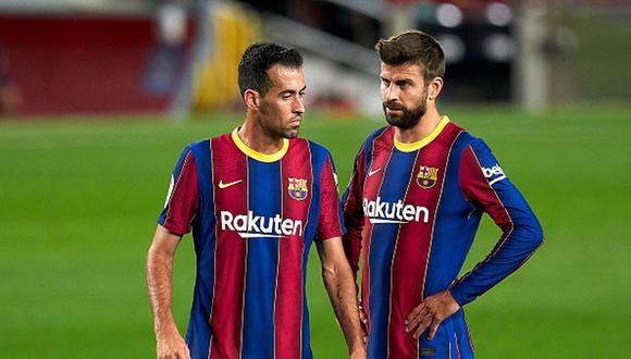 Barcelona terminó en el tercer lugar de la temporada 20-21 de LaLiga. (Getty)