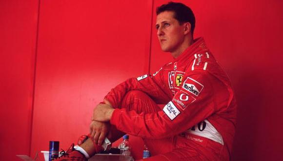 El hijo de Enzo Ferrari habló de Michael Schumacher. (Foto: Getty Images)