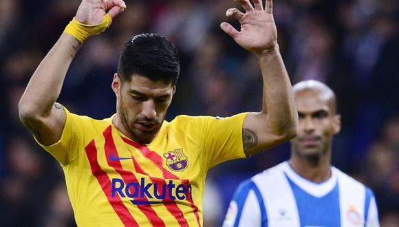Suárez descartó la posibilidad de fichar por Juventus. (Foto: AFP)