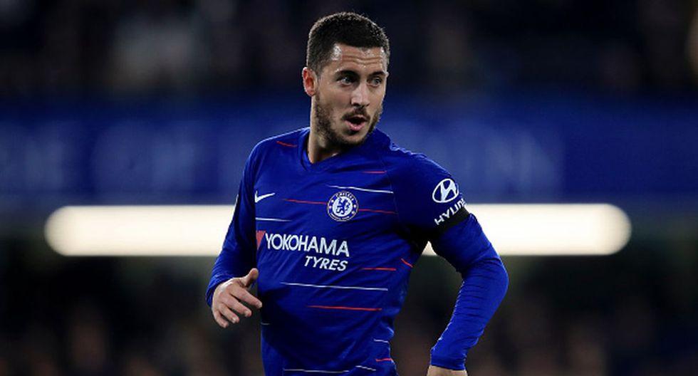 Jugador: Eden Hazard  / Club Actual: Chelsea. (Getty)