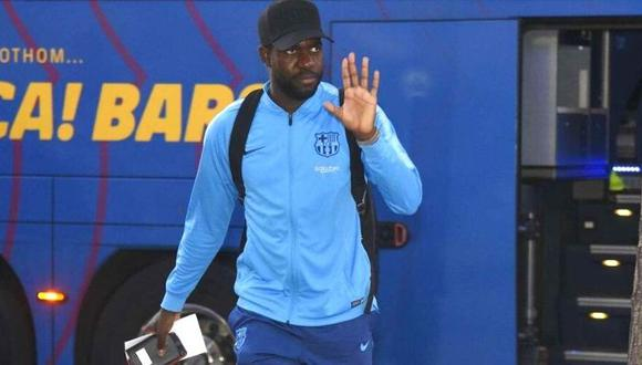 Samuel Umtiti llegó al Barcelona en el verano de 2016 desde Lyon. (AFP)