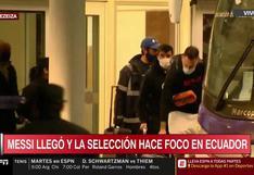 Solo faltabas tú: Leo Messi ya está en Argentina en la semana de Eliminatorias [VIDEO]