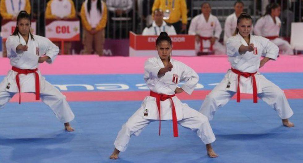 Perú sumó dos preseas más en Karate Kata individual y por equipos femeninos. (Foto: IPD)