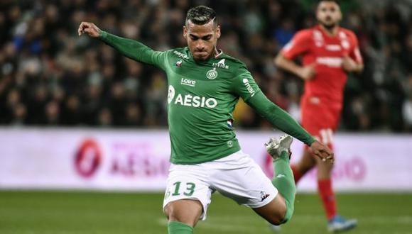 Miguel Trauco llegó al Saint Etienne en la temporada 2019/20. (Foto: AFP)