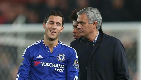 Eden Hazard fue dirigido por Jose Mourinho en el Chelsea. (Foto: AP)