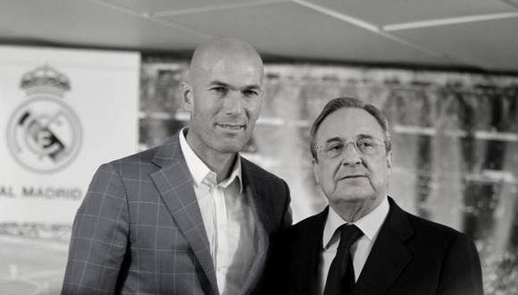 Zinedine Zidane ha ganado tres Champions League con el Real Madrid como entrenador. (Getty)