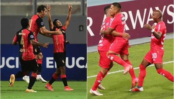 Melgar y Sport Huancayo ya tienen a sus rivales en la Copa Sudamericana 2021. (Foto: Twitter)