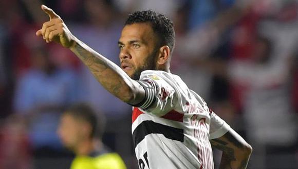 Dani Alves fue jugador de Sao Paulo desde agosto del 2019. (Foto: Sao Paulo)