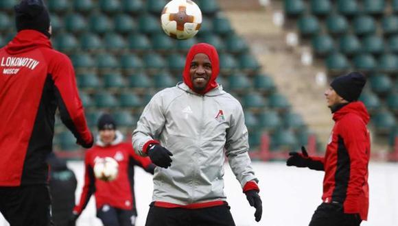 Jefferson Farfán en la lista de concentrados para la pretemporada de Lokomotiv Moscú. (Foto: Agencias)