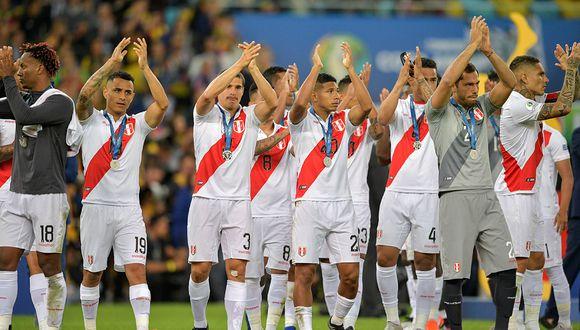 La selección peruana subirá dos puestos en el próximo ranking FIFA. (Foto: AFP)