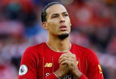 """El mensaje de Virgil van Dijk al Liverpool: """"Regresaré mucho más fuerte"""""""